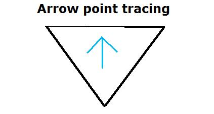 arrow-point-tracing